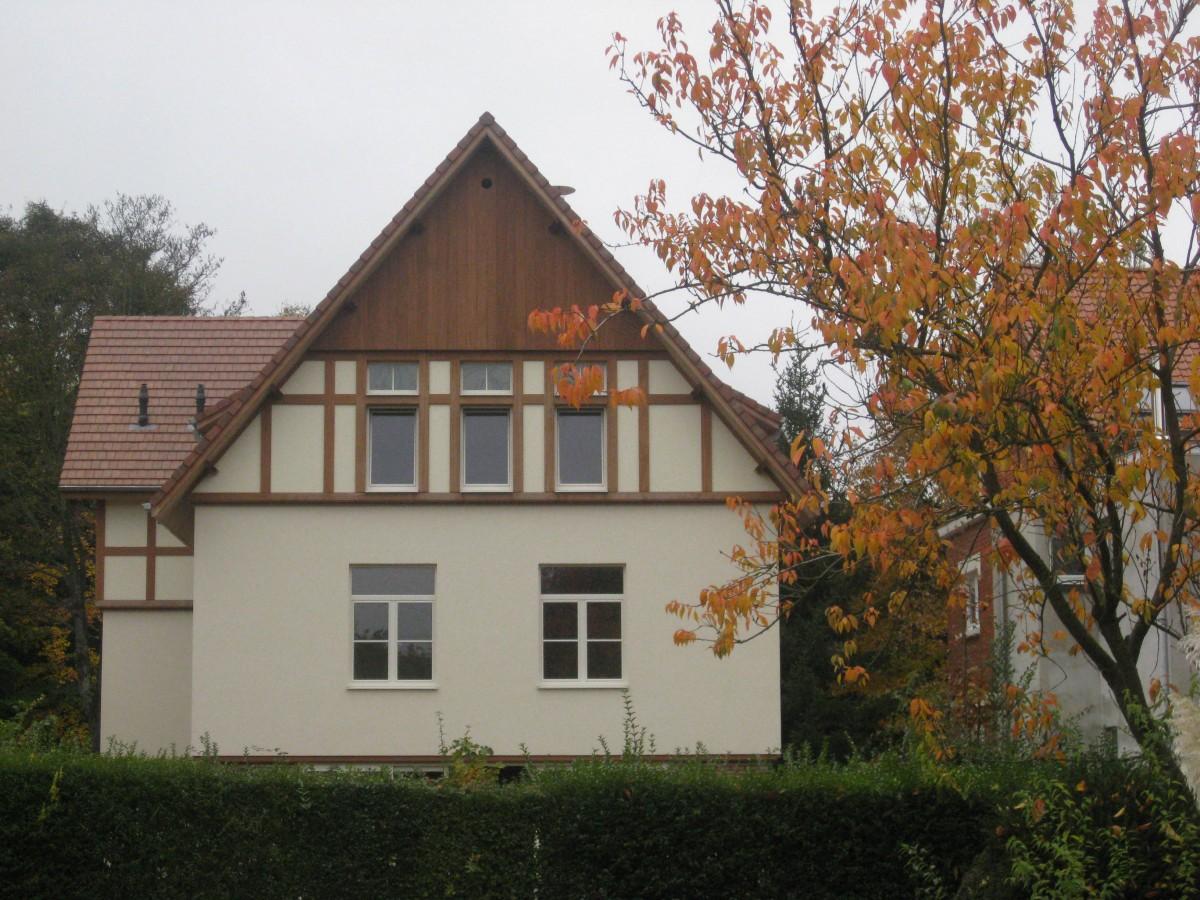 Bouw woning in normandische stijl in watermaal bosvoorde xavier vanderlinden architect - Stijl des maisons ...