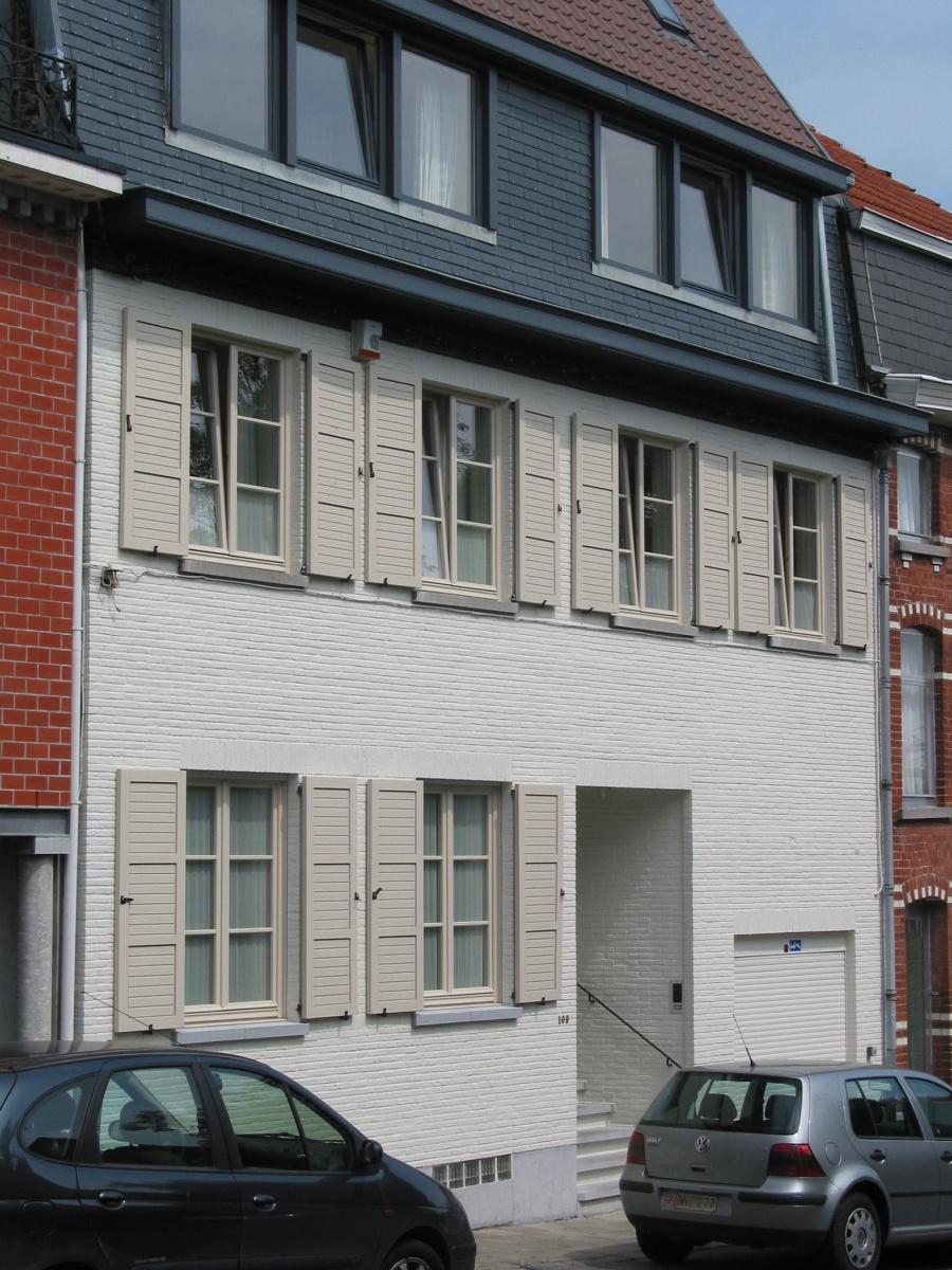 xavier vanderlinden architecte r novation et r am nagement d une maison bourgeoise des ann es 60. Black Bedroom Furniture Sets. Home Design Ideas