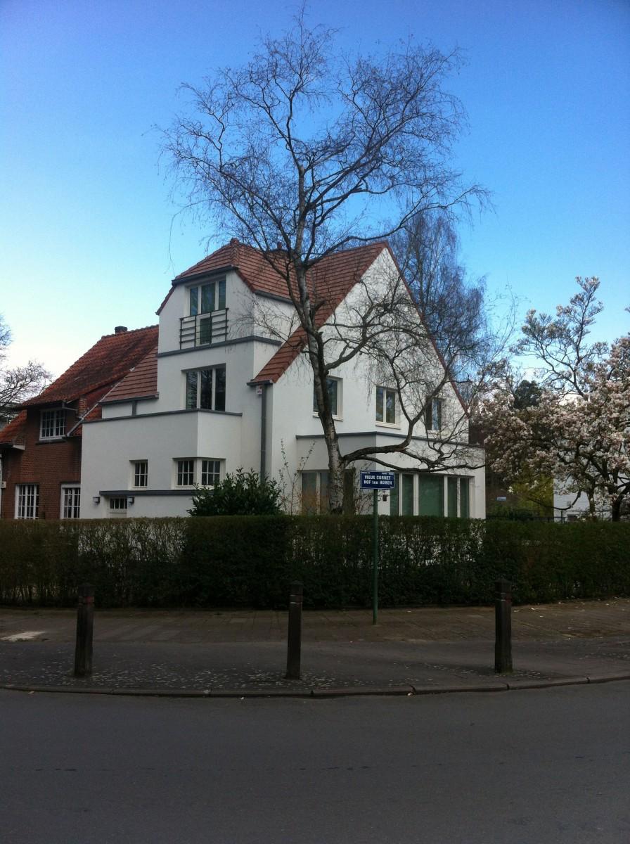 xavier vanderlinden architecte r novation d une maison trois fa ades uccle. Black Bedroom Furniture Sets. Home Design Ideas