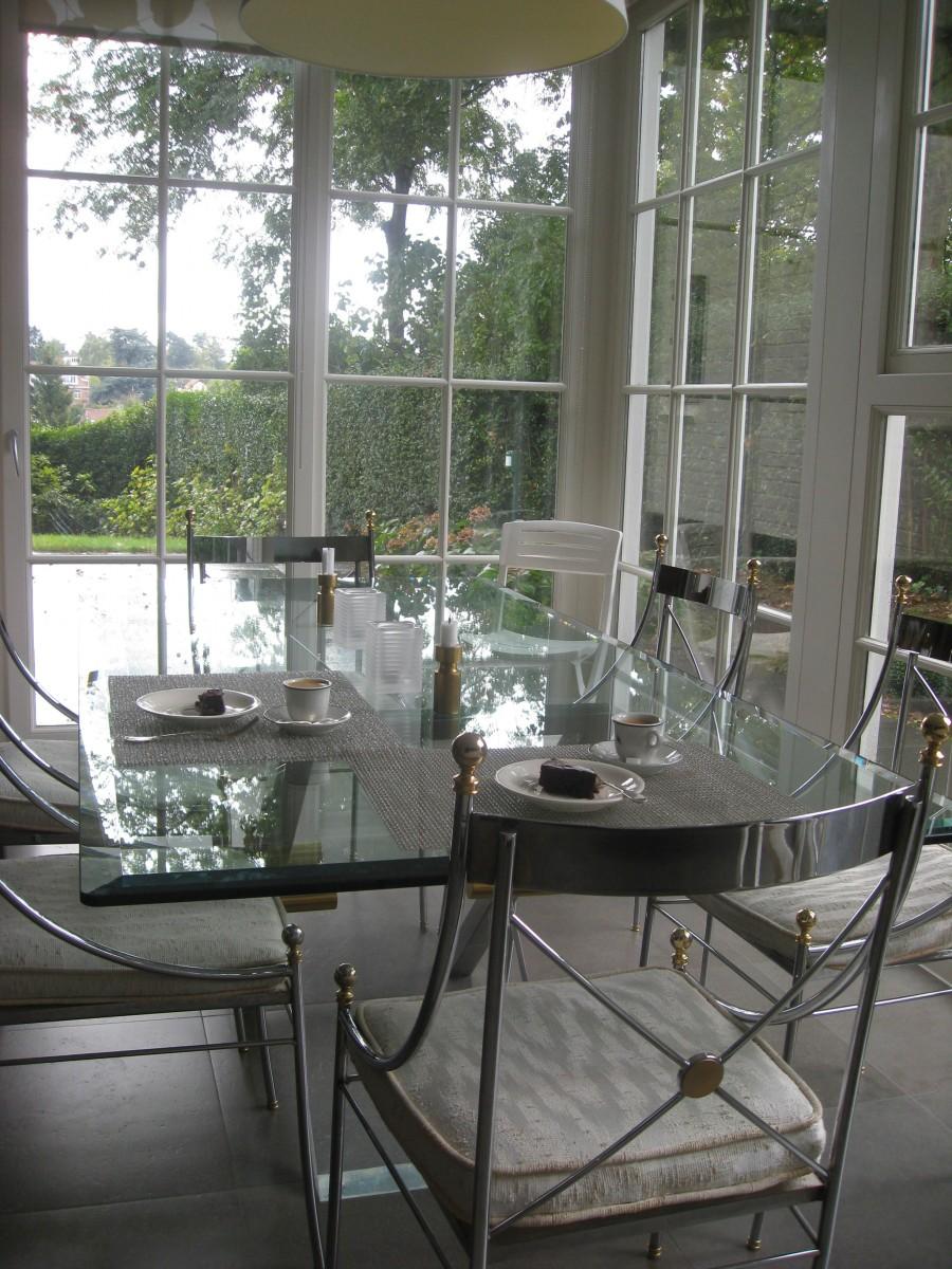transformation d 39 une villa uccle xavier vanderlinden architecte. Black Bedroom Furniture Sets. Home Design Ideas