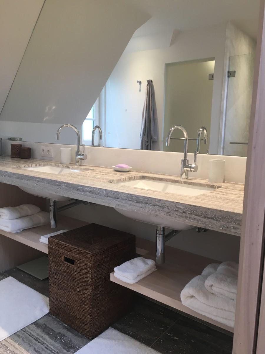 Verbouwing villa in het zoute knokke xavier vanderlinden for Salle de bain xavier laurent